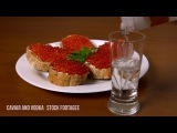Caviar And Vodka - Stock Footage