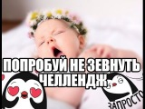 ПОПРОБУЙ НЕ ЗЕВНУТЬ  Try not to yawn CHALLENGE