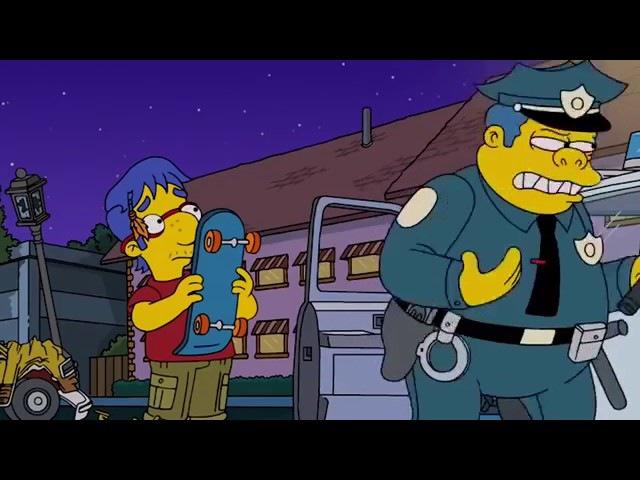 Самая Интересная Серия Симпсонов Взросление Барта