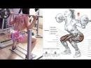 Marcelle Cypriano Leg Trainig Fitness Body