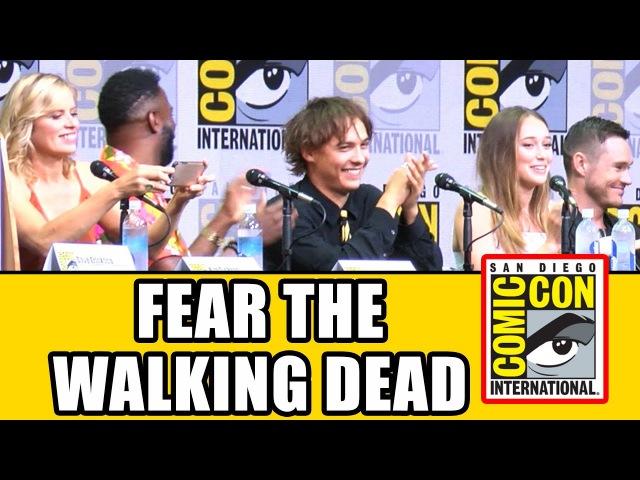 FEAR THE WALKING DEAD Comic Con 2017 Panel - News, Season 3 Highlights