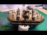 How to paint a weathered tank  part 4 complete
