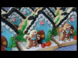 Mini Holiday Cookie 3D Scene - Cookie decorating