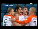 Чорноморець - Шахтар - 0:2. Відео голу Лещука