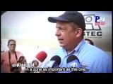 Президент Коста-Рики перекусил во время интервью