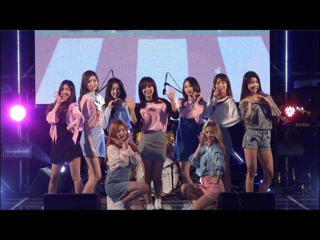[2017.09.22] 구구단 (gugudan) Wonderland (원더랜드) 직캠 [FULL HD Fancam] (장수한우랑사과랑축제)