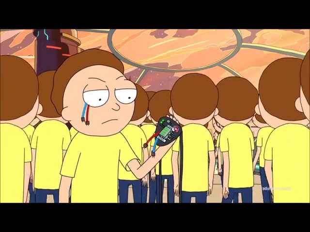 Cocky Mortys are Dangerous.... to Ricks