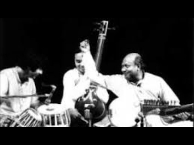 Jhinjhoti - Ali Akbar Khan and Zakir Hussain on Tabla