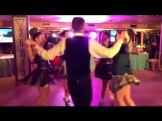 Ирландские танцы на День Святого Патрика