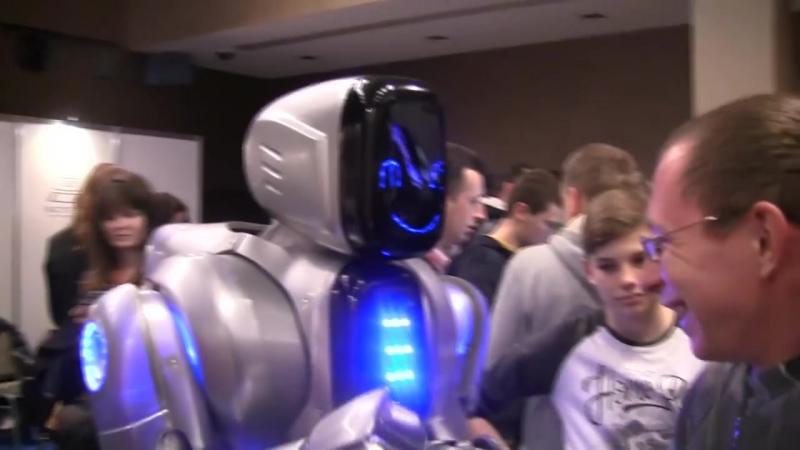 Роботы будущего Новые технологии 2016 выставка в японии