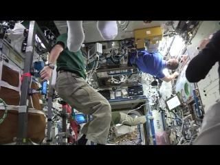 Астронавты показали «Манекен челлендж» на МКС