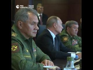 """Путин посетил учения """"Запад-2017"""""""