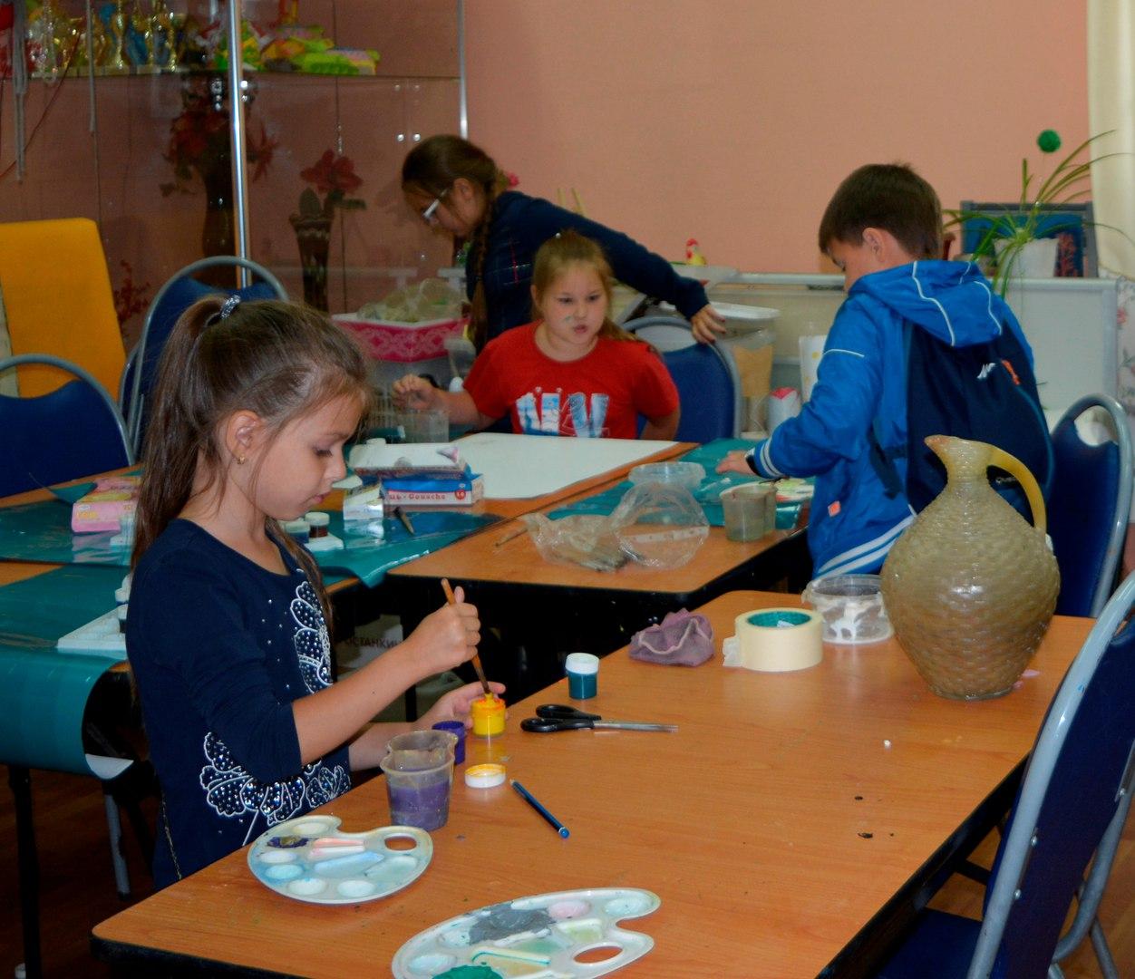 творчество детей в Московии