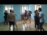 Занятие в Танцы по-быстрому. Эксперимент с узкими юбками