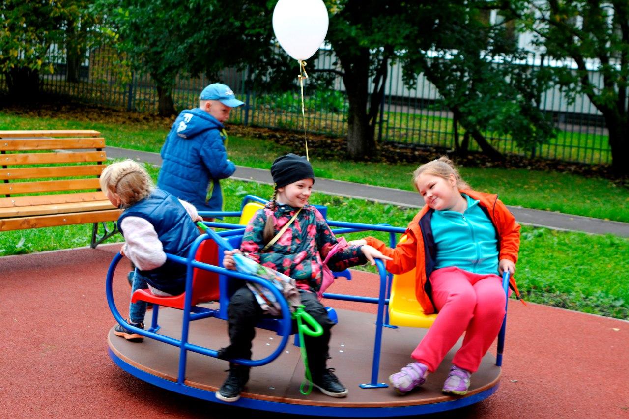 игровая площадка района Ивановское