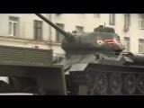 Военная техника стягивается к Красной площади на Парад Победы