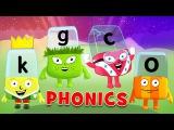 Letter Sounds - O, G, K, C