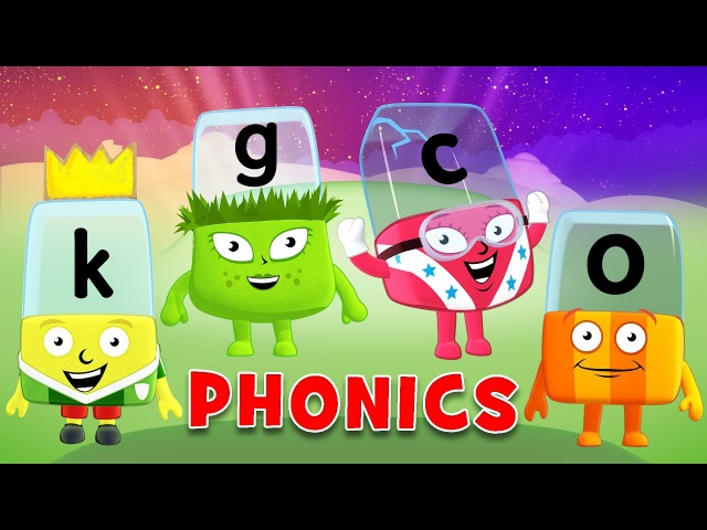 Learn to Read | Phonics for Kids | Letter Sounds - O, G, K, C