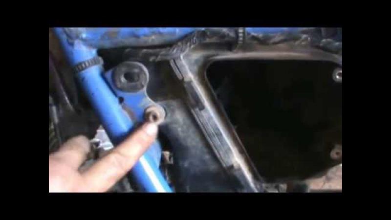 SUZUKI DR 650. FILTRO DE AÍRE Y CAJA DEL FILTRO. CAMBIAR DESMONTAR Y LIMPIAR. Video 7. Air filter