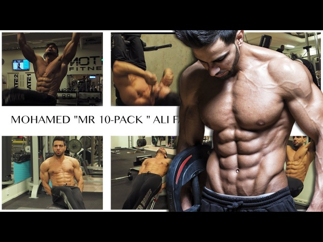 HE HAS 10 ABS 10 Pack Here is his 6 Favorite ab exercises