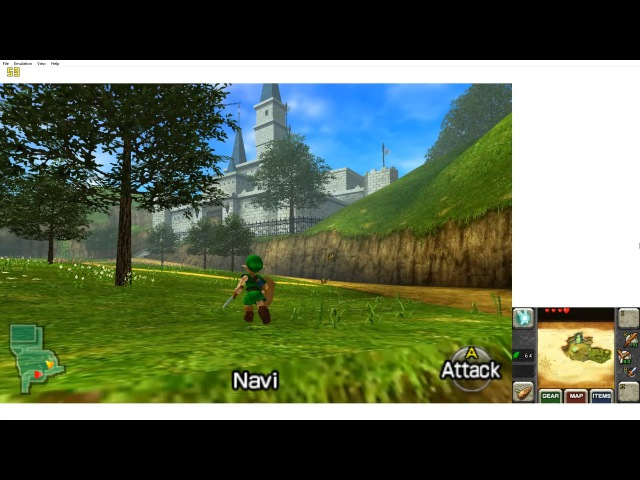 Citra (3DS Emulator) - The Legend of Zelda: Ocarina of Time 3D (1080p / 60 FPS)