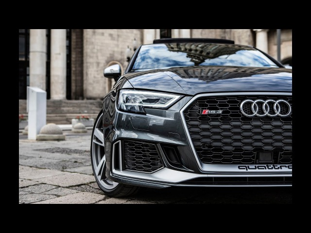 FINALLY! 2018 400hp AUDI RS3 SEDAN (5cyl,Turbo) - SHAPE WEVE BEEN WAITING FOR