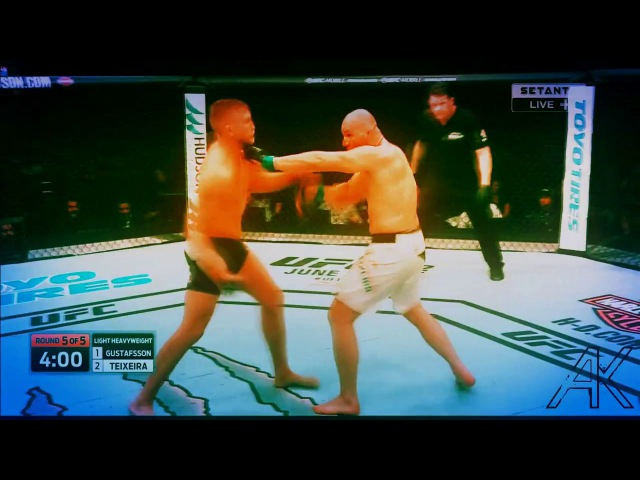 Alexander The Mauler Gustafsson vs Glover Teixeira AK UFC Fight Night 109