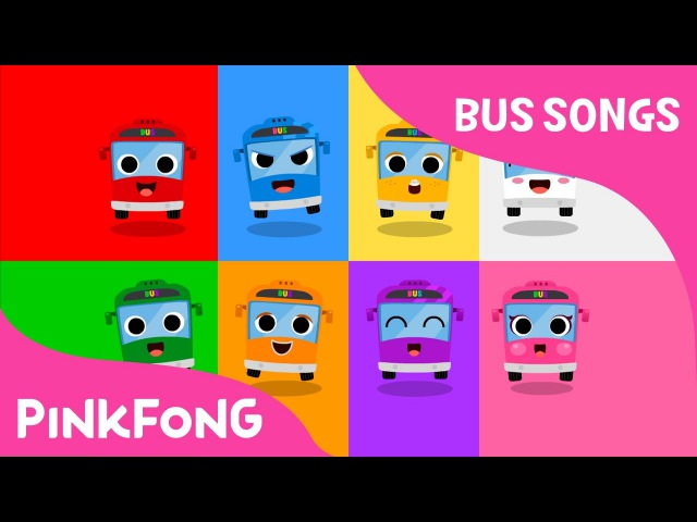 Color Bus   Bus Songs   Car Songs   Pinkfong Songs for Children