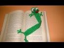 Rana Segnalibro Uncinetto Tutorial Amigurumi - Frog Bookmark Crochet - Rana Marcador