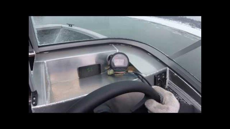 Windboat-4.6 evo Yamaha F70 AETL замер скорости
