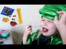 Что любит Алиса крокодильчик !!! Фёрби и игрушки Хот Вилс Развлечение для детей !