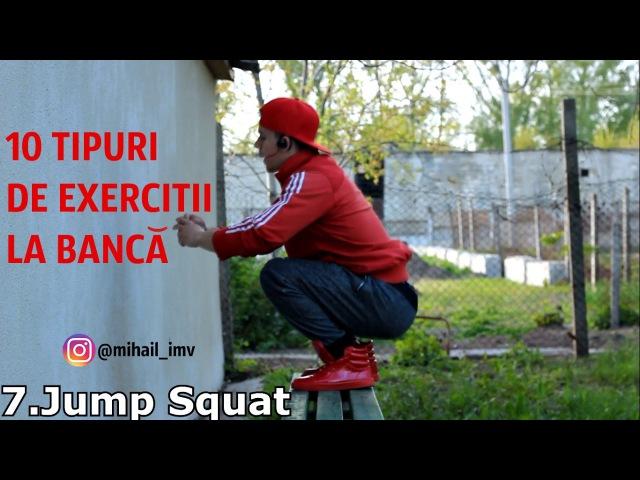 10 TIPURI DE EXERCIȚII LA BANCĂ The Best Exercises AG 5