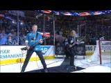 Металлика исполняют рок-версию гимна США. НХЛ Финал. матч №4-й Сан-Хосе Шаркс - Питтсбург Пингвинз