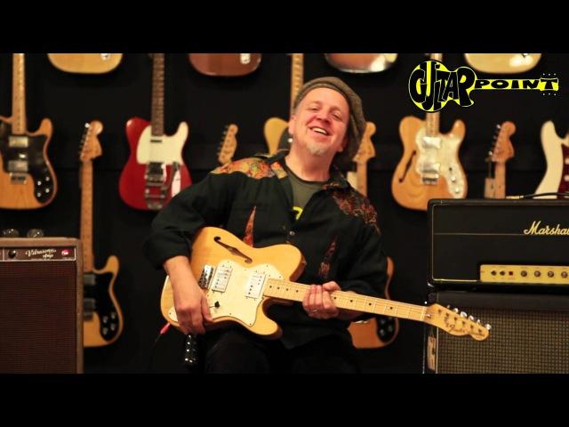 1972 Fender Telecaster Thinline II - Natural / GuitarPoint Maintal / Vintage Guitars