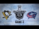 NHL 17 PS4. 2017 STANLEY CUP PLAYOFFS 100th FIRST ROUND GAME 3 EAST PIT VS CBJ. 04.16.2017. (NBCSN) !
