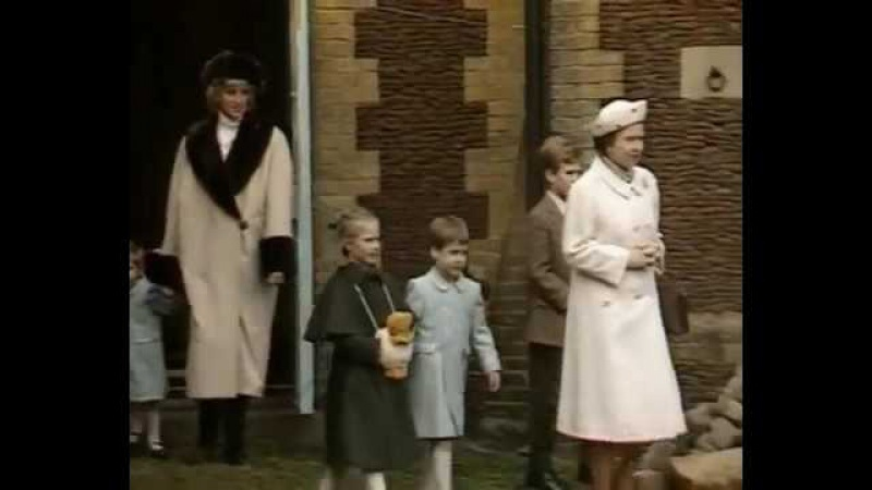 Jan 03, 1988 Princess Diana and her boys photocall with an antique fire engine