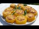Кабачки запеченные в духовке с фаршем Вкусное яркое и простое блюдо ВкусноЕШка