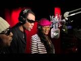 Wayne Wonder, Lady Saw &amp Frisco Kid freestyle on 1Xtra