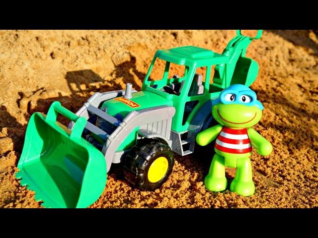 🌞 Vidéo avec voitures 🐢 Quaky et les jeuxdesable à la plage🏖️ - PERTE Dun RÂTEAU