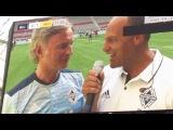 Robert Carlyle Interview @ Celebrity Football Match 91617