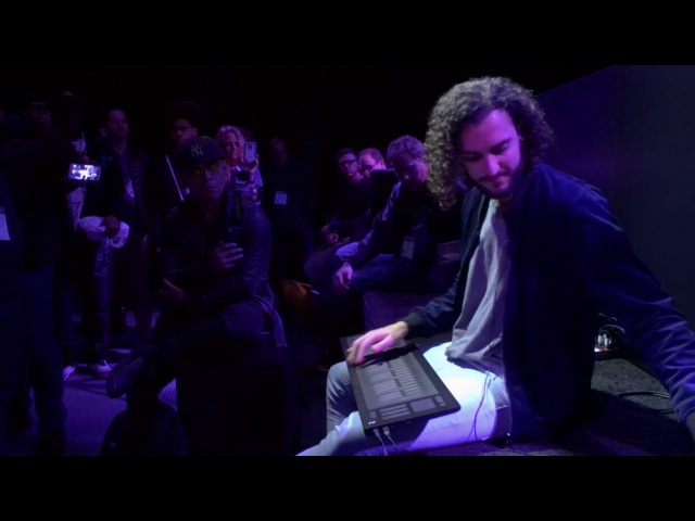 Marco Parisi plays Prince's Purple Rain on the Seaboard RISE at NAMM 2017