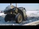 Грузовики и трактора по непроходимым дорогам севера россии tractor stuck in the mud