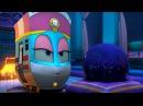 Мультфильм для детей про паровозики – Роботы-поезда 🚄 - все серии подряд - сборник 21-25
