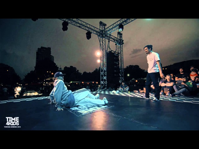 Uzee Rock vs Gun Final Breaking 1x1 Time4Kids 2015