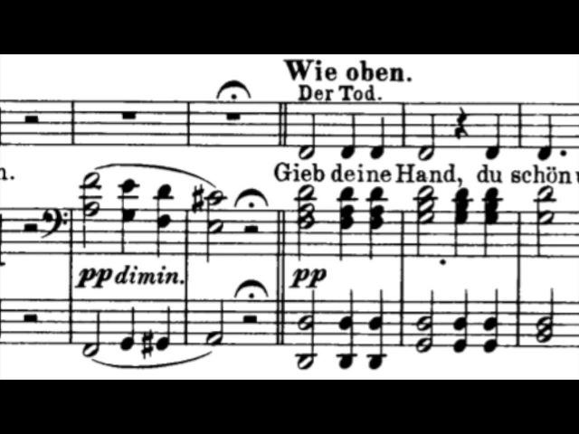 F. Schubert - Der Tod und das Mädchen (La Jeune fille et la Mort) Jessye Norman
