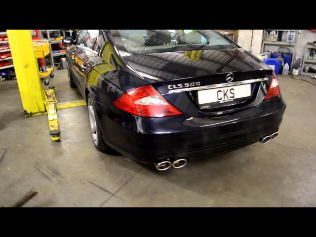 W219 CLS500 CKS Sport Exhaust System Performance Upgrades