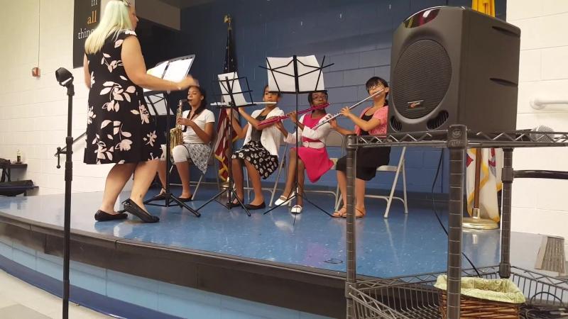 School band recital 2014.. on my flute!!