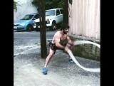 Давид Хачатрян продолжает упорно тренироваться.