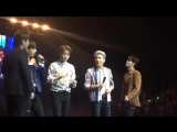 [Fancam] 170707 B.A.P walking to the extended stage SuperPopCon2017