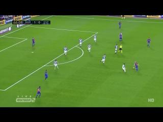 Барселона 2:0 Эспаньол | Дубль Суареса